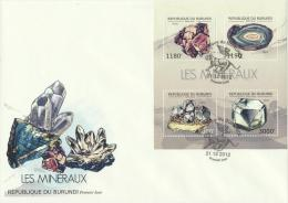 Burundi 2012 - Cover: FDC - Minerals - Minerals