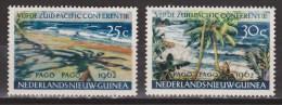 Nederlands Nieuw Guinea Dutch New Guinea 76 - 77 MLH ; Pago Pago 1962 - Niederländisch-Neuguinea