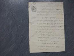 17 Rochefort 1885 Adoption M.G. D'Atlan Shea Par Mme Cordier  ; Ref 640 V 11 DEB - Documents Historiques