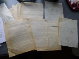 15 MURAT 1959 Accident AUTOMOBILE SIMCA-ARONDE, PV Gendarmerie, Plan, Mme Laporte, Arnal ; Ref 635 V 11 DEB - Documents Historiques