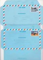 AEROGRAMMES N° 1018 ET 1019 -2 EXEMPLAIRES DE CHAQUE -COTE / 14 € ANNEE 1992-93