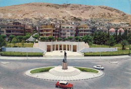 AK  Asien Syrien DAMASCUS SYRIA  TOMB AND MONUMENT OF ADNAN MALKY ANSICHTSKARTE - Syria