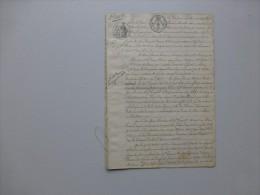86 BIARD 1828 Procès Filature De CHANVRE Moulant Et Laurence, 6 Métiers  ; 627 V 11 - Documents Historiques