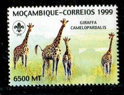 (cl.12 - P.25) Mozambique ** N° 1384 (ref. Michel Au Dos) - Girafes - - Girafes