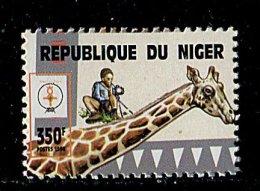 (cl.12 - P.25) Niger ** N° 1998 (ref. Michel Au Dos) - Scout. Girafe - - Girafes