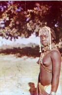 AK Afrika > ANGOLA COSTUMES MÄDCHEN   ANSICHTSKARTE 1951 - Angola