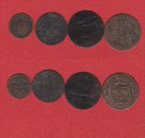Suisse //  Lot De 4 Monnaies Des Cantons - Svizzera