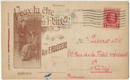 Pub Alex Rousseau  Essor Musical  31 Boulevard Jamar Instruments Musique  Valse Veux Tu Etre Ma Reine Autographe - Belgium