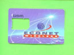 NIGERIA - SIM Frame Phonecard As Scan - Nigeria