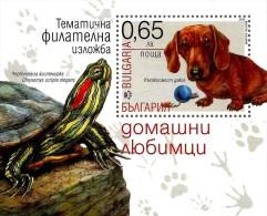 Bulgaria - 2015 - Domestic Pets - Thematic Philatelic Exhibition - Mint Special Exhibition Souvenir Sheet - Nuevos