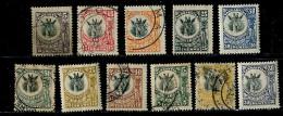 (cl.12 - P.28) (lot 1) Tanganyika *, Ob Lot De 11 Tbres (ref. Michel Au Dos) - Girafe - - Giraffes