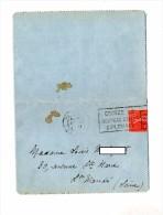 Carte Lettre Flamme Paris Cigare Diplomate - Oblitérations Mécaniques (flammes)