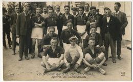 Jeux Olympiques Paris 1924 Football Equipe Du Luxembourg - Autres