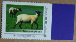 LFV1 Basse-Normandie : Agneaux De Pré-salé (autocollant / Autoadhésif) - France