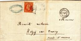 CHATEAU THIERRY LIZY SUR OURCQ - 1867 - GC 926 - LSC N° 23 - 1849-1876: Période Classique