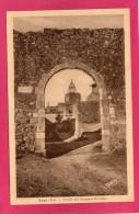 83 VAR AUPS, Portail Des Remparts Des Aires, 1939, (Tardy, Marseille) - Aups