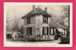 77 SEINE-et-MARNE, Forêt De FONTAINEBLEAU, Restaurant De Franchard, Précurseur, (B. F., Paris) - Fontainebleau