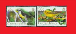 Cayman Is. 2006,  Oiseaux Birds Bananaquit / Sucrier à Ventre Jaune - Vitelline Warbler / Paruline Des Caïmans MNH ** - Passereaux