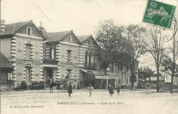 16)   BARBEZIEUX - Cours De La  Gare - Autres Communes