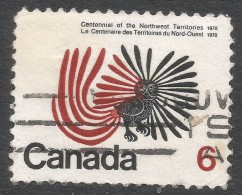 Canada. 1970 Centenary Of Northwest Territories. 6c Used. SG 648 - Used Stamps