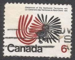 Canada. 1970 Centenary Of Northwest Territories. 6c Used. SG 648 - 1952-.... Reign Of Elizabeth II