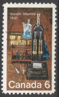 Canada. 1971 50th Anniv Of Discovery Of Insulin. 6c Used. SG 675 - 1952-.... Reign Of Elizabeth II