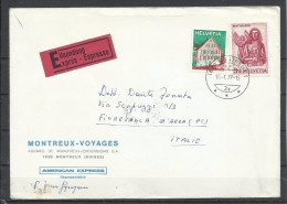 Suiza. 1977_Expreso Dirigido De Monteu A Fiorenzuola. - Suiza