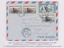 Taaf - Iles Australes  - Kerguelen - Agi - Norsel - Galliéni - Covers & Documents