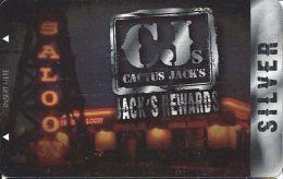 Cactus Jack's Rewards Players Card Las Vegas, NV - BLANK Slot Card - Casino Cards
