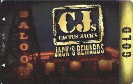 Cactus Jack´s Rewards Players Card Las Vegas, NV - Slot Card - Casino Cards