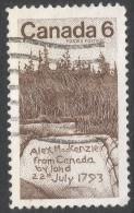 Canada. 1970 Sir Alexander Mackenzie. 6c Used. SG 658 - Used Stamps