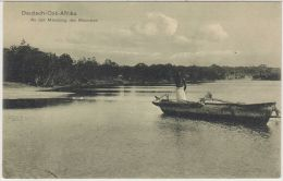 26382g  DAR ES SALAM - An Der Mündung Des Msimbasi - Deutsch-Ost-Afrika - Tanzania