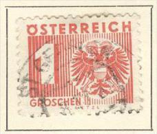 Österreich Portomarken 1935 Mi. 159 + 171 Gest. Wappen Adler - Strafport