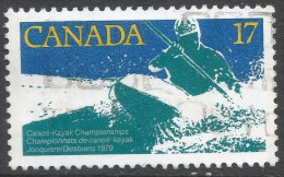 Canada. 1979 Canoe-Kayak Championships. 17c Used. SG 956 - 1952-.... Reign Of Elizabeth II