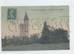 Flixecourt (80) :  La Tourelle Du Château  En 1905 PF. - Flixecourt