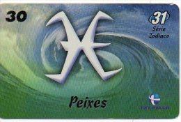 Poisson Fish Zodiaque Zodiac Télécarte Brésil  (689/J08) - Zodiac