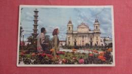 Guatemala  Ran American  World Airways Card   85 - Guatemala