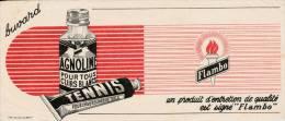 Agnoline Pour Cuirs Blancs - Produit Flambo - Format 9 X 21 Cm - Wassen En Poetsen