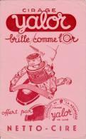"""Cirage  - Yalor - """" Brille Comme L'or """"- Format 14 X 22,5 Cm - Wassen En Poetsen"""