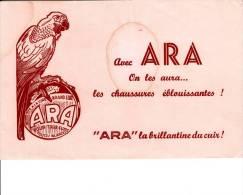 Cirage  - ARA ( Perroquet )- Format  21 X 13,5 - Produits Ménagers