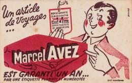 """Articles De Voyage  - Valises  """"Marcel Avez """" - Format  13,5 X 21 Cm - Papel Secante"""