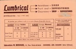 Lumbrical - Laboratoire Boismare - Bihorel Les Rouen  - Format  13,5 X 21 Cm - Drogheria