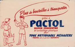 Pactol  - Nettoyages Ménagers - Format  13,5 X 21 Cm - Wassen En Poetsen