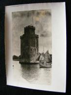 Photographie Originale De La Rochelle Entrée Du Port La Tour St Nicolas  FEV16 10ter - Lieux