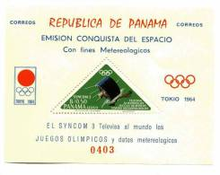PANAMA-1964-Satellite NASA-JO TOKYO -MI B29***MNH- Dentelé - América Del Sur