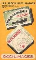 Themes Div -ref L954-publicité -specialites Madox -olliergues -puy De Dome - Anti Corbeaux Et Pies - - Publicité