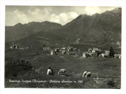 1956 - Italia - Cartolina Timbro Locatello    4/32 - Italy