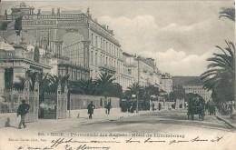 Nice   ( 06 )     Promenade  Des  Anglais    -    Hotel  Du  Luxembourg    En  1900 . - Nice