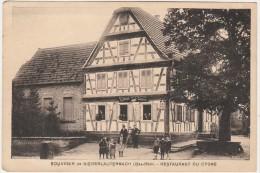 CPA - 67 - Souvenir De NIEDERLAUTERBACH - Restaurant Du Cygne   - 037 - Autres Communes