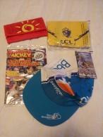 Publicité. Casquette Bouygues-Bbox - Tour De France 2006 + Sacs Cofidis Et LCL (neuf) - Caps